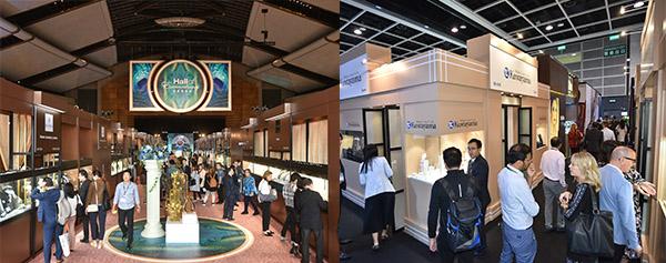 左圖:珠寶精粹廊, 右圖:品牌精粹廊
