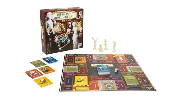 「大美術館」桌上遊戲