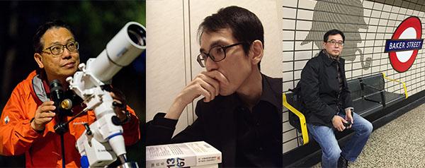 (左起)李偉才、陳浩基及厲河