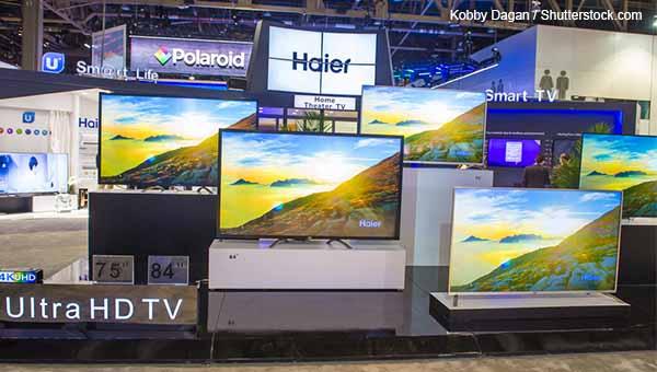 中國製電視機
