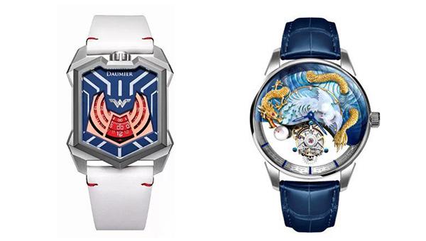 丹瑪的《正義聯盟》腕表, 萬希泉的「龍鳳呈祥」陀飛輪腕表