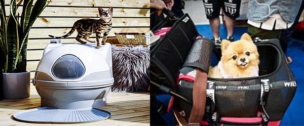 貓廁所, 寵物手推車