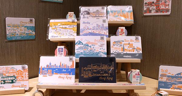 香港景觀明信卡