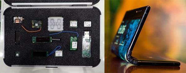 能源採集設備,可摺疊手機