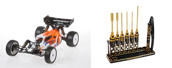 Arrowmax模型車及配套工具
