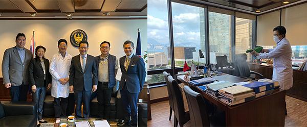 到訪泰國駐香港總領事