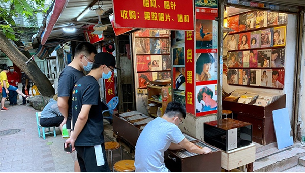 二手黑膠唱片市場