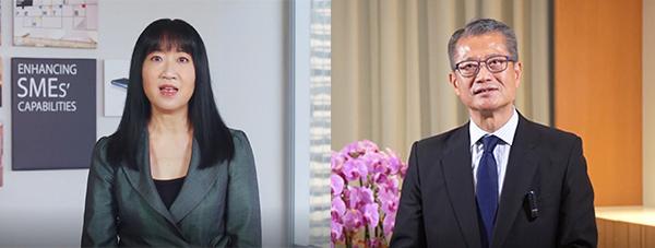 左起:方舜文,陳茂波