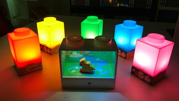 樂高積木造型燈