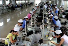 Garment factories are unable to operate at full capacity due to labour shortages