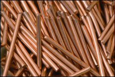 Volatile prices for such commodities as copper