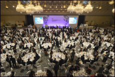 The Hong Kong Dinner, held in Tokyo, 15 May, attracted nearly 700 business and political leaders fro