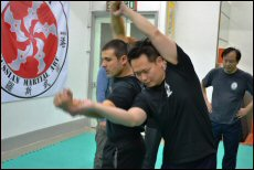 The centuries-old Russian martial art focuses on working with the opponent's tension and moves
