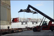 Handling oversize equipment for the mining sector is a specialty of ART Logistics