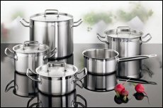 Products by DONNA Cooperation, a Hong Kong-based OEM company specialising in high-end cookware