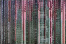 One of Michael Wolf's iconic shots of Hong Kong's famed high-rises