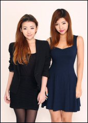 """Sisters Doris and Pinky Ngie set up BKRM, a self-styled """"urban luxe"""" shopping site"""