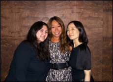 Amy Malik, Liz Wombell and Ming Ng set up online fashion accessories site Glamourpods
