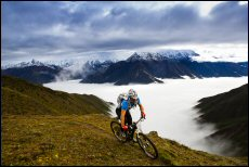 Chiru mountain bikes are used by professional endurance cyclists racing in events