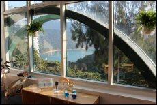 Light-filled classrooms overlook green views