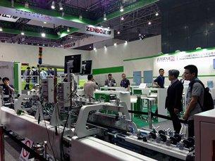 Shanghai Eterna Machinery on show
