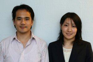 Chu Tsz Tat and Mayuko Yamaura