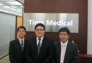 (Left to right) Alec Leung, Johnson Chong and Simon Yeung