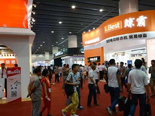 L Best's stand at the Building Decoration Fair
