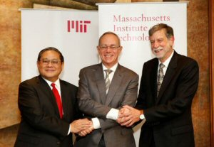 Hong Kong and MIT more tightly joined
