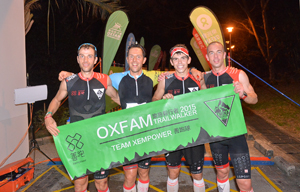 Oxfam Trailwalker 2015