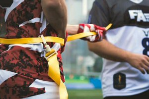 The largely non-contact flag football is gaining popularity in Hong Kong