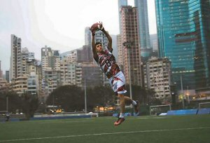 Hong Kong's first international flag football tournament