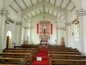 Heritage site St Joseph's Chapel at Yim Tin Tsai