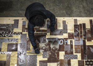 """Debris"" will showcase the latest works by Vhils"