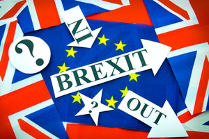 This month's UK referendum on whether to remain in the EU has affected trade sentiment