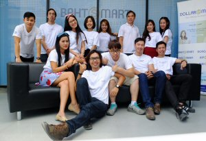 The DollarSmart Global team, rapidly expanding