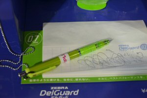 Upmarket and multi-functional: the DelGuard mechanical pencil