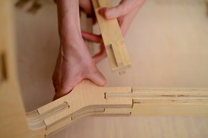 Traditional Japanese and Chinese joinery techniques avoid the use of metal fastenings