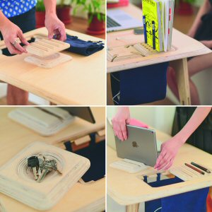 The ButterPly desk is designer furniture at an accessible price point