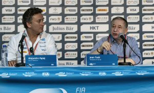 Jean Todt (right) and Alejandro Agag