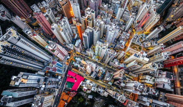 Photographer Andy Yeung captures scenes from above the Hong Kong cityscape