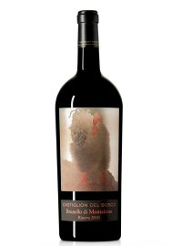 The limited edition Zodiac Rooster wine from Castiglion del Bosco