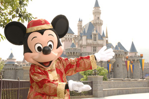 Hong Kong Disneyland has notched up a record in guest spending