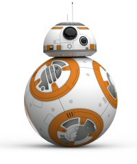 Sphero's BB-8 App-Enabled Droid, produced in partnership with Disney