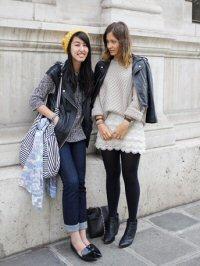 Tania Reinert and Samantha Wong