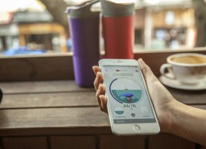 The Ozmo smart cup and water app