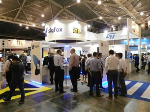 The Sigfox stand at IoT Asia 2017