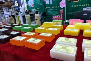 Cleaning up: Shiva's imported Indian soaps