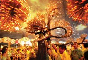 Tai Hang Fire Dragon Dance