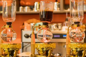 Can the allure of fresh coffee stem the rise of e-commerce